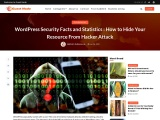 WordPress Security Facts And Statistics : How To Hide Your Resource From Hacker Attack