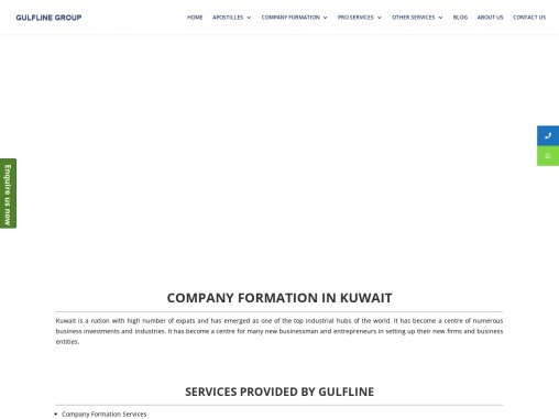 Company Formation Services in Kuwait