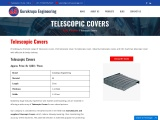 Telescopic Covers, Telescopic Covers supplier, Telescopic Covers Manufacturer