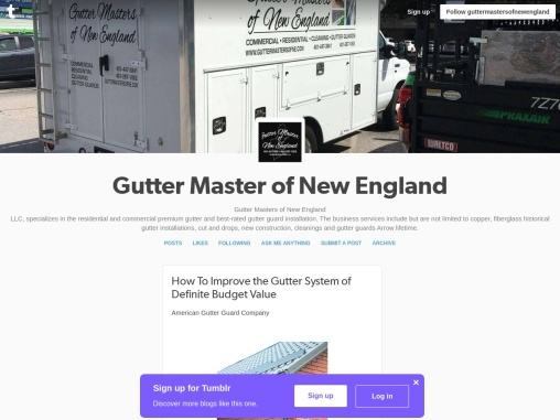 How To Improve the Gutter System of Definite Budget Value