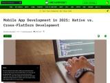 Mobile App Development in 2021: Native vs. Cross-Platform Development