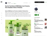 Buy the top natural WBM Baby Care products now available online in Pakistan