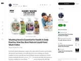 Washing Hand Is Essential for Health in Daily Routine, Now Buy Best Natural Liquid Hand Wash Online