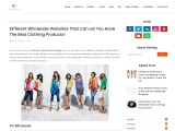 Wholesale Latest Clothing – Clothing Distributors Ukfas