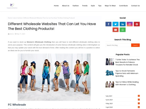 Womens Latest Clothing Styles – Bulk Wholesale Clothing Suppliers