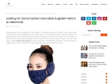 Face Masks Suppliers – New Comfortable & Trendy Face Mask For Girls!