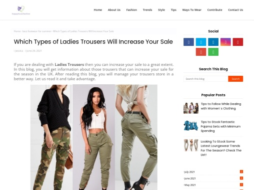 Summer Fashion Trousers – Summer Trousers Suppliers