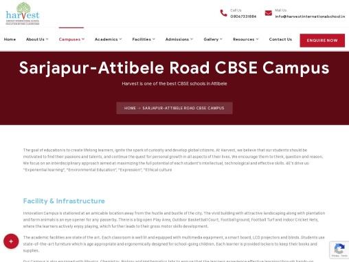 Harvest International School | Best School in Attibele