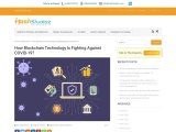 How Blockchain Technology Is Fighting Against COVID-19?