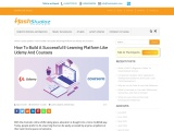 Elearning Application Solutions Development