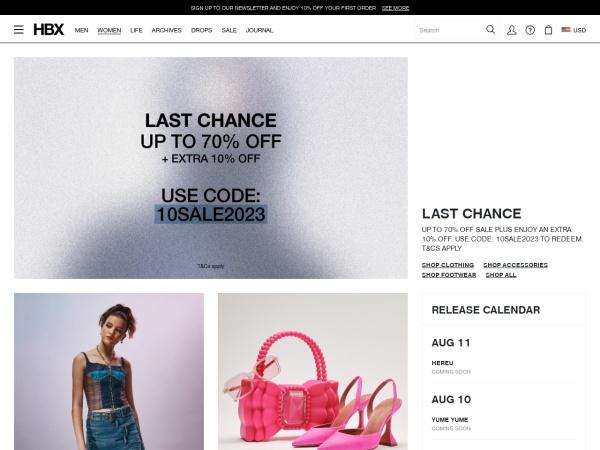 香港時尚潮流新媒體《HYPEBEAST》的線上電商平台