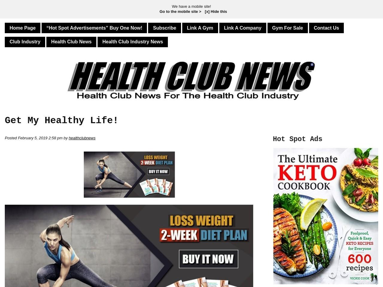 Get My Healthy Life!