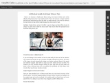 6 Effectual Health And Body Fitness Tips