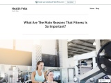 What Are The Main Reasons That Fitness Is So Important?