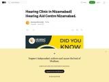 Hearing Clinic in Nizamabad| Hearing Aid Center Nizamabad.