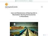 Care and Maintenance of Hearing Aids in Nizamabad    Hearing Aid Accessories in Nizamabad.