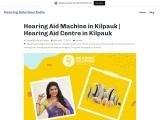 Hearing Aid Machine in Kilpauk   Hearing Aid Centre in Kilpauk