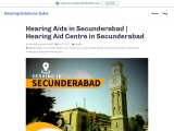 Hearing Aids in Secunderabad | Hearing Aid Centre in Secunderabad