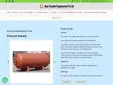 Pressure vessel manufacturer in india