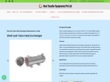 Shell and Tube Heat Exchanger Manufacturers In India
