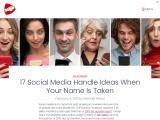 social media business names | instagram name ideas