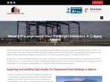 Pre-engineered Metal & Steel Buildings Construction Calgary, Alberta