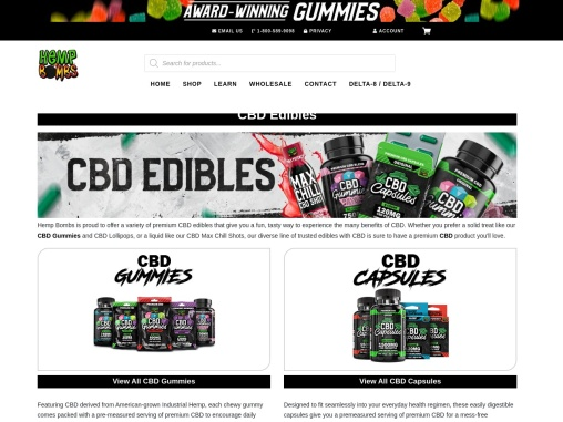 CBD Edibles Sold and Delivered To Your Door