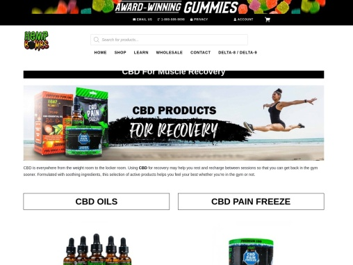 CBD for Recovering Muscles and Aches