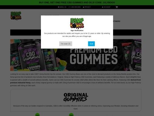 The Best CBD Gummy Bears Available