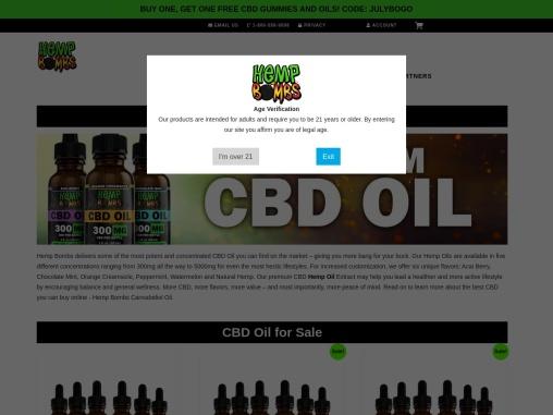 High Potency CBD Oil Sold Online