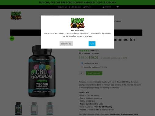 50 count cbd gummies for sleep delivered to your door