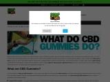 What Do CBD Gummies Do for Stress