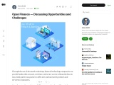 Open Finance — Discussing Opportunities and Challenges