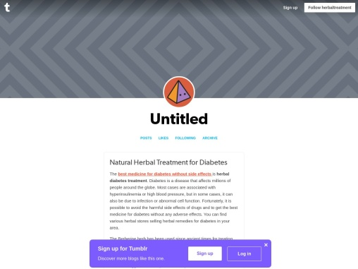 Remedies for Diabetes – Natural Home Treatment for Diabetes