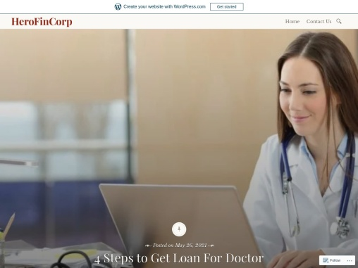 4 Steps to Get Loan For Doctor