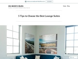 5 Tips to Choose the Best Lounge Suites