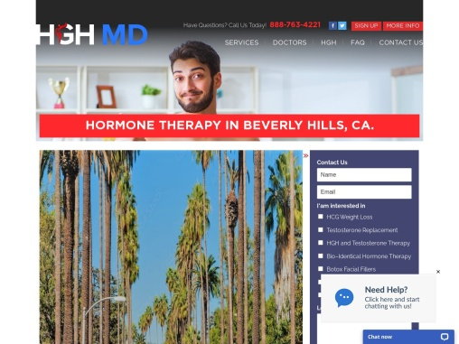 HORMONE THERAPY IN BEVERLY HILLS, CA.