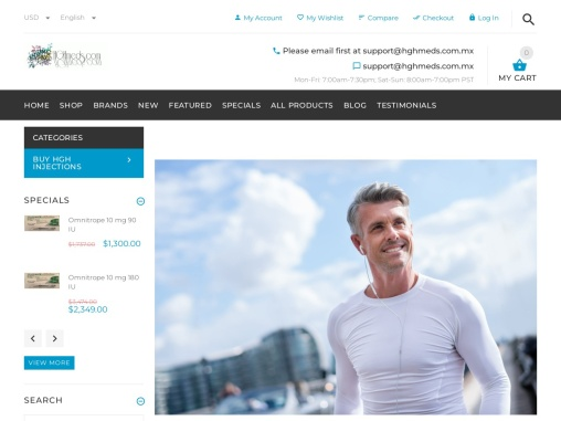 HGHMeds | HGH Hormone Therapy Online in Mexico