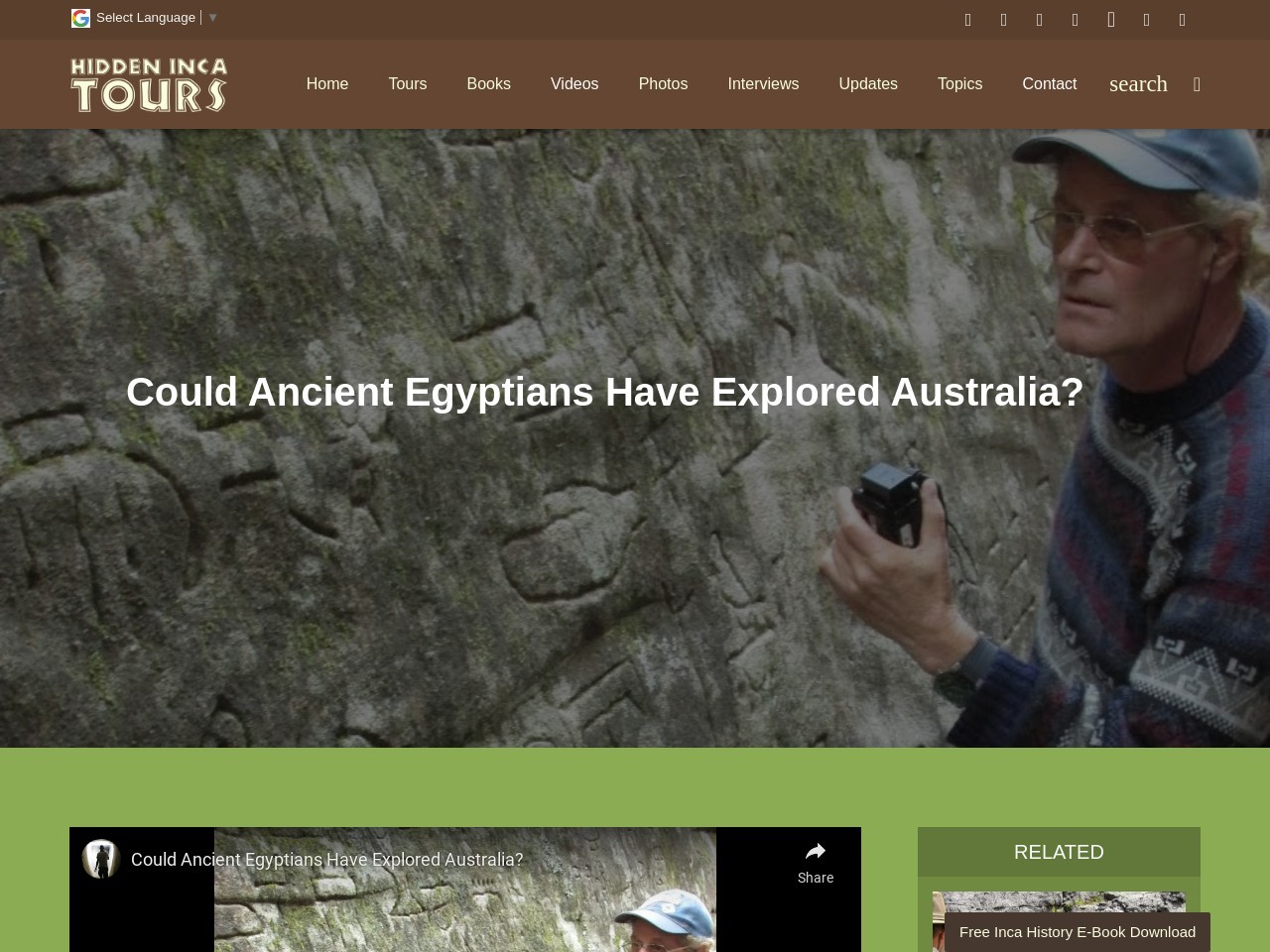 Could Ancient Egyptians Have Explored Australia?