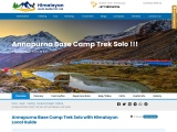 ANNAPURNA BASE CAMP TREK SOLO | GUIDE | COST | MAP