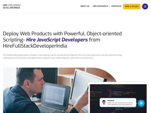 Hire Dedicated JavaScript Developers