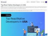 Hire React Native Developers in USA
