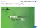 NodeJS Development Company in USA