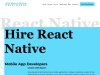 Hire React Native Developers | Mobile App Developers