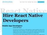 React Native App Development Company – Hire React Native Developers