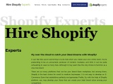 Shopify Development Company- Hire Shopify Experts
