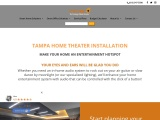 Home Theater Systems, Tampa Florida