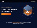 The best solution to organize a brokerage operation in the financial markets