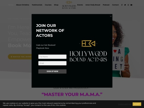 Hollywood Bound Actors Courses- How to prepare for self-tape Auditions | Book more tv