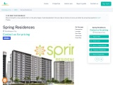 Spring Residences Condo for Sale